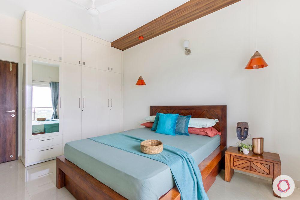 salarpuria aspire-wooden bed designs-white wardrobe designs