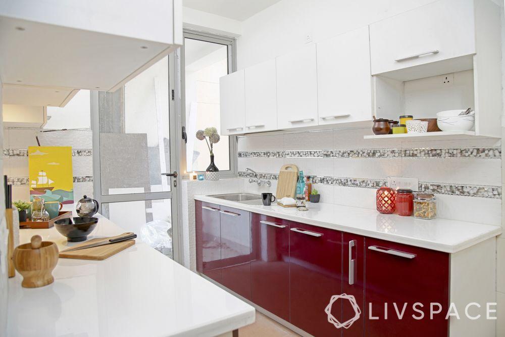 kitchen tiles design-strip tiles