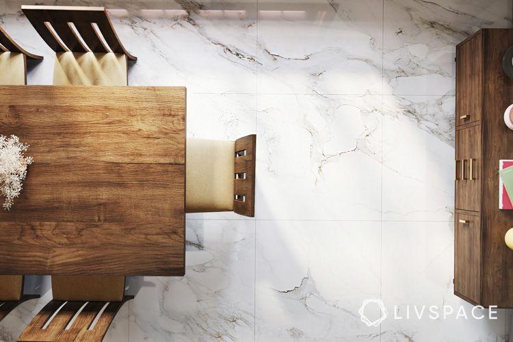 marble-floor-designs-white-black-wooden-furniture