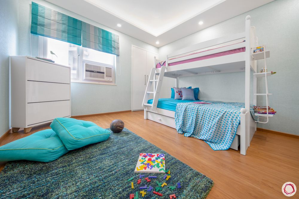 childproofing a room-easy to maintain materials
