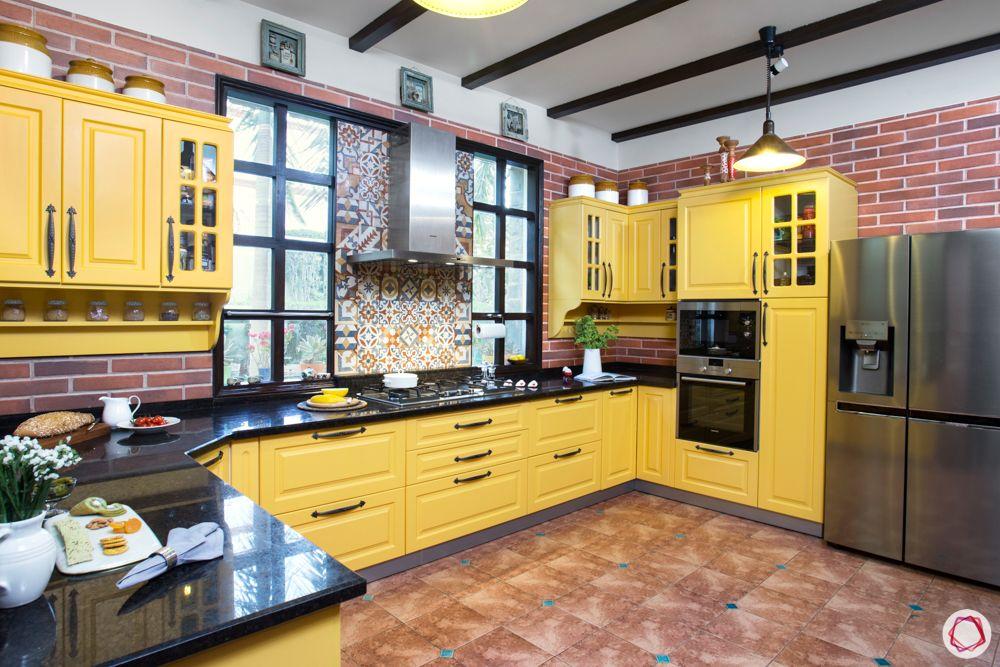 modular kitchen materials-wooden kitchen