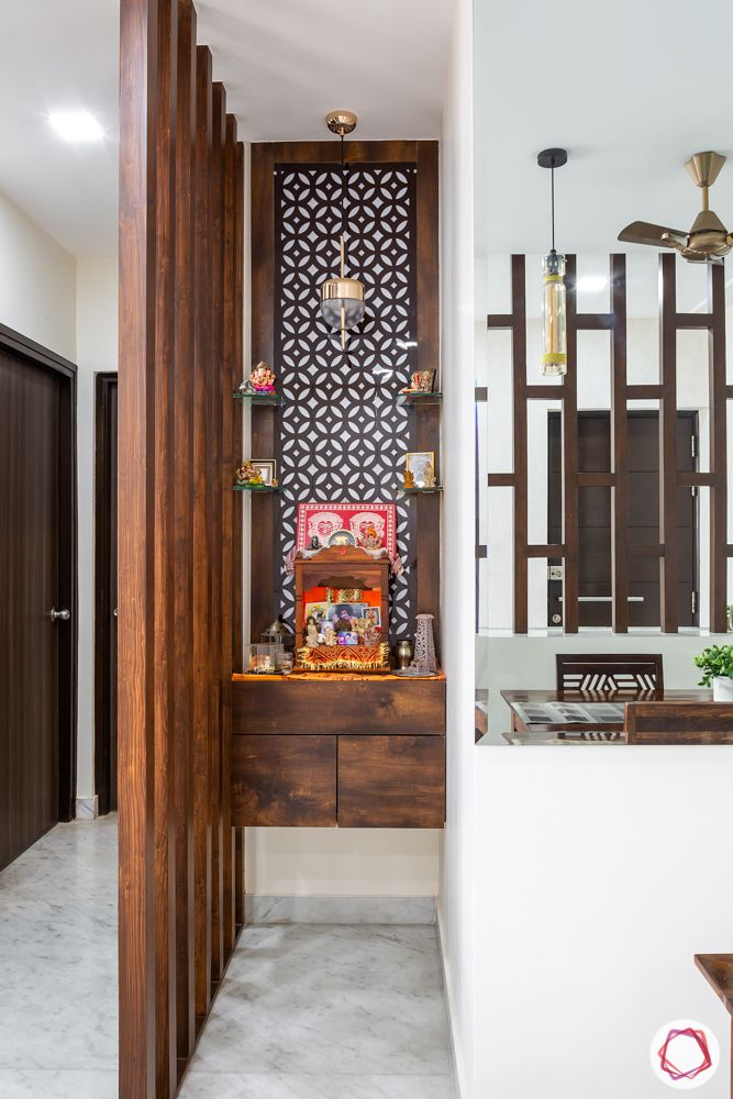 Pooja Units That Can Fit Into Any Nook Corner