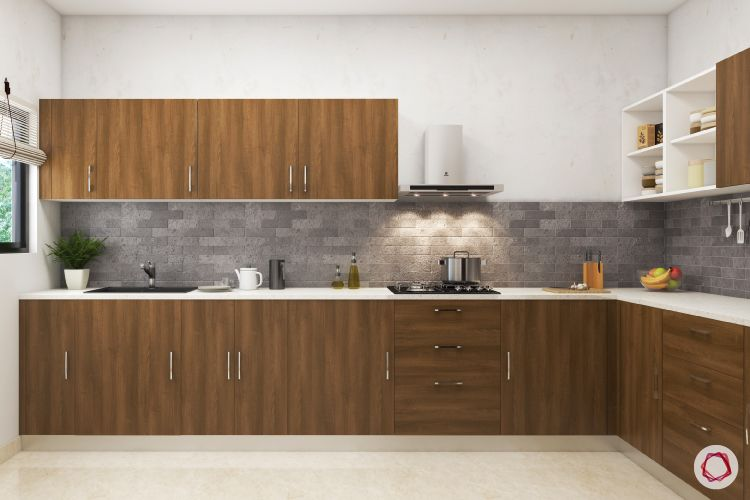 Modular kitchen laminates-laminated plywood-top-bottom