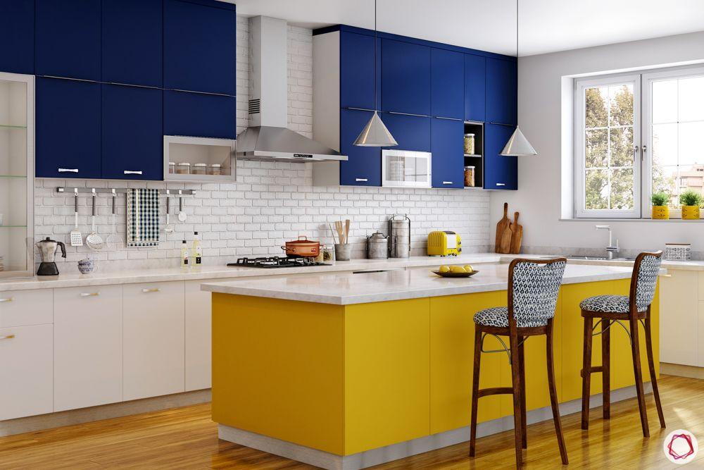 standard kitchen dimensions-Kitchen Island Height