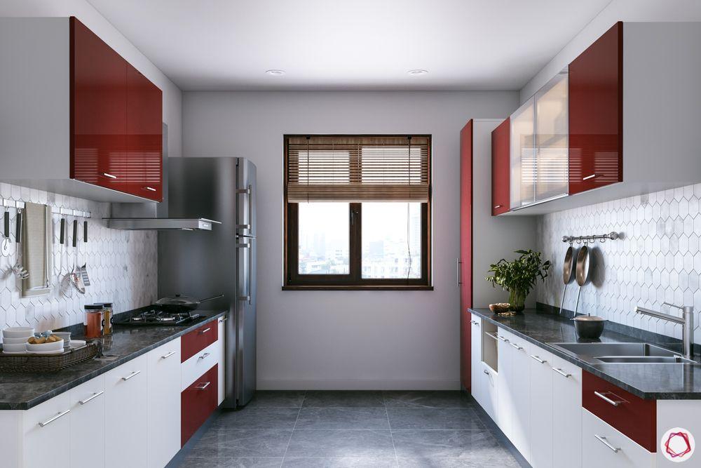 standard kitchen dimensions-window in kitchen-green backsplash