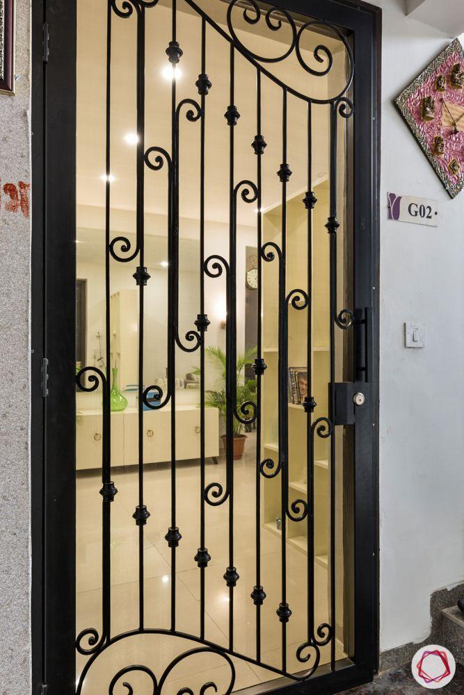 tulip violet-grill designs-grill gate designs
