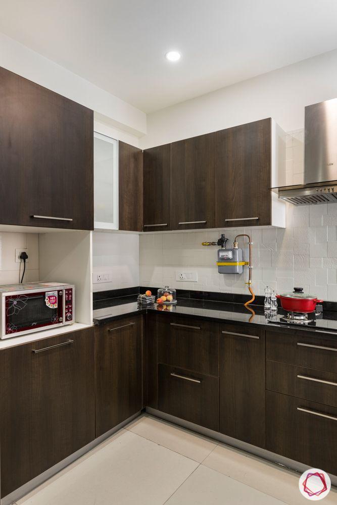 tulip violet-wooden kitchen designs-open cabinet designs