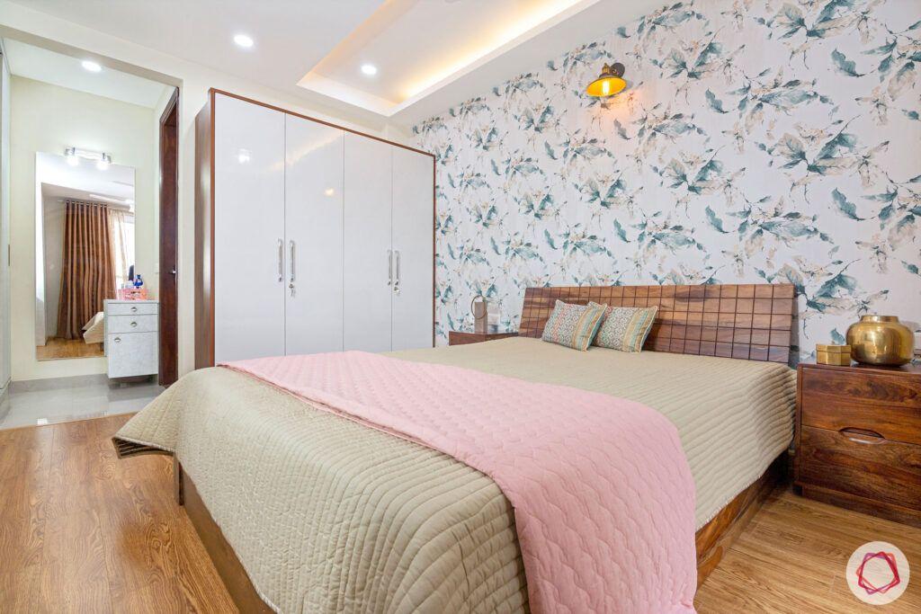interior-in-gurgaon-master-bedroom-white-wardrobes