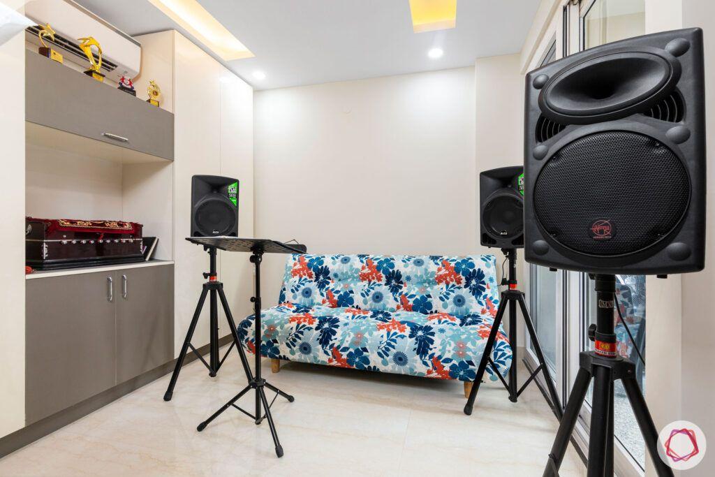 interior-in-gurgaon-music-room-sofa-cum-bed-laminate-study-table