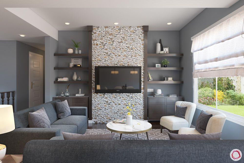 grey sofa designs-grey wall designs