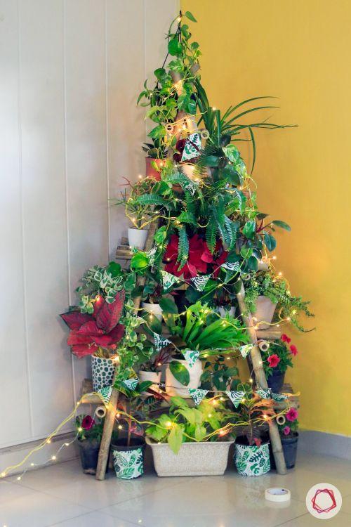 diy christmas tree-lights for christmas tree