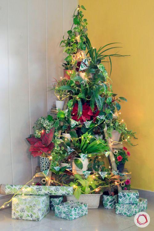 diy christmas tree-lighting ideas for christmas tree