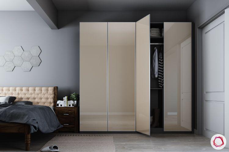 bedroom-cupboard-designs-free-standing-gloss-wardrobes