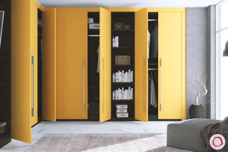 bedroom-cupboard-designs-yellow-built-in-wardrobes
