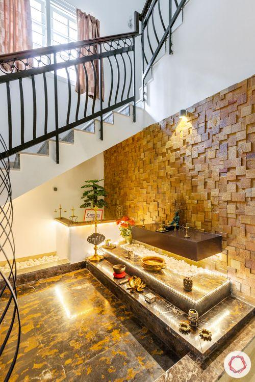 prestige lakeside habitat-sandstone wall cladding-profile lighting for shelves
