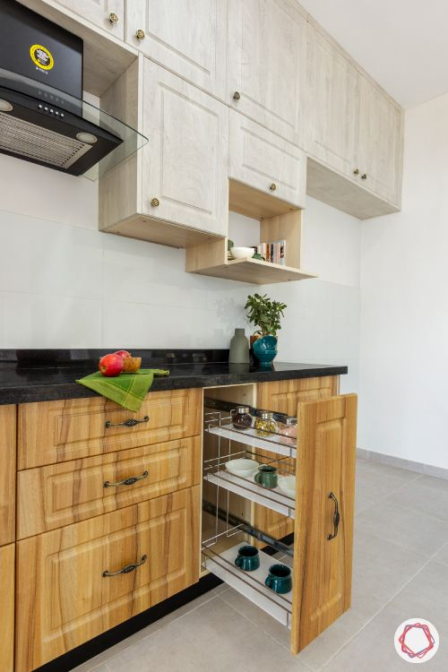 budget kitchens-two-toned kitchen-kitchen with lofts