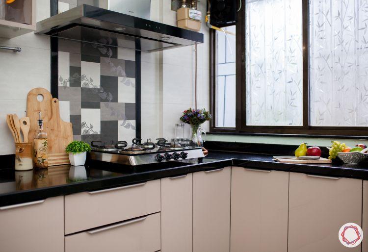livspace kitchens-semi modular kitchen-neutral kitchen