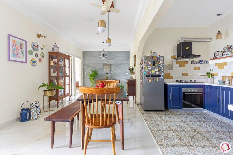 Shriram Chirping Woods-kitchen-dining-room-open