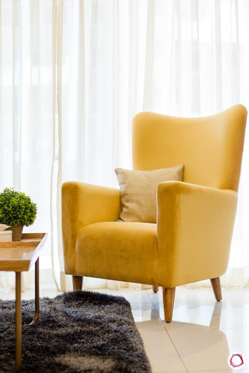 home-decor-trends-2020-yellow-accent-chair