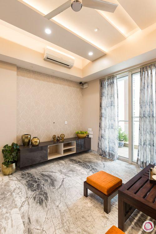 Tv unit-lounge-wallpaper-flooring