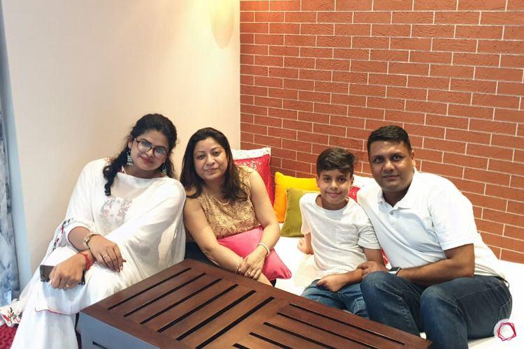 4 bhk flat-family and designer