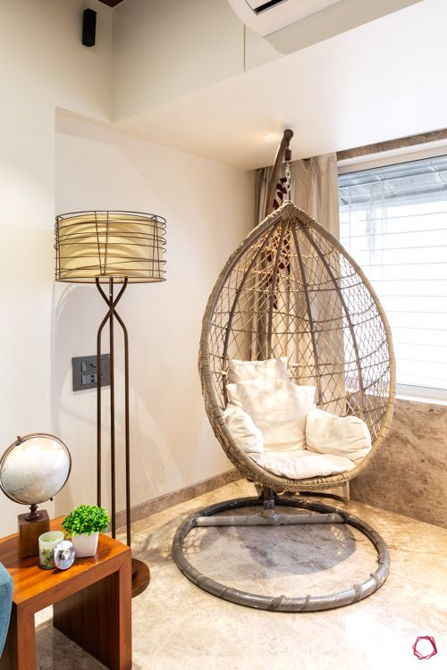types-of-chairs-eggshell-cushion-floor-lamp