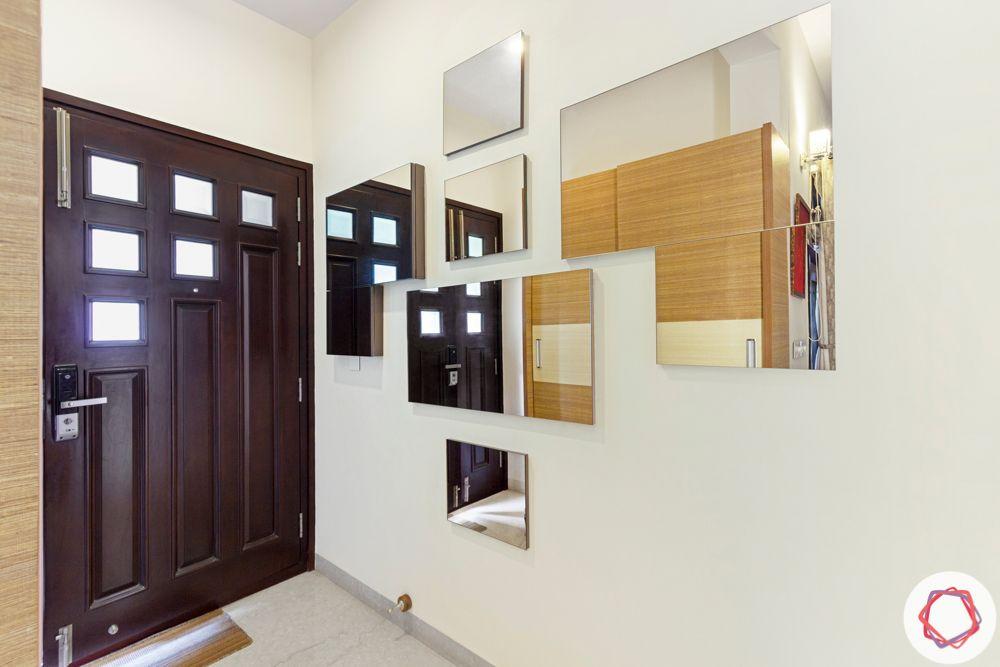 nambiar bellezea-entryway-mirror panels-mirror wall
