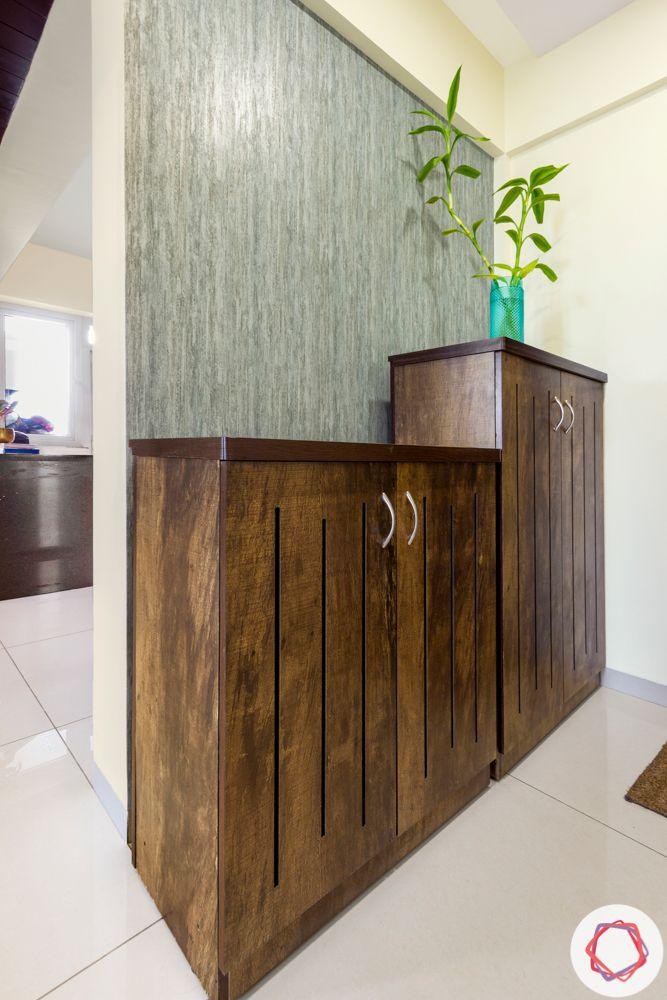Alembic Urban Forest-foyer-wallpaper-storage-cabinet