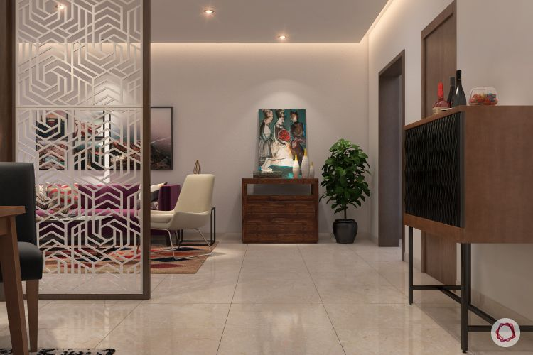 Flooring trends 2020-vitrified tiles-living and dining