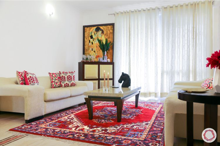 indian home-kashmiri carpet-printed cushions-artwork