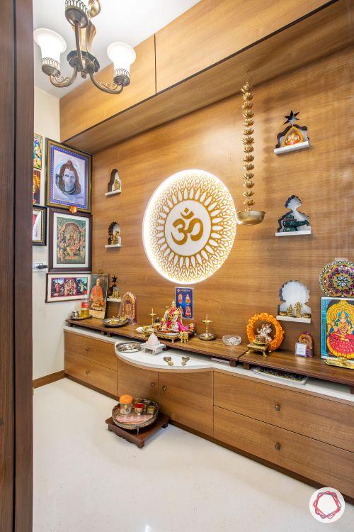 pooja mandir designs fashion-wooden pooja room designs-marble inlay designs