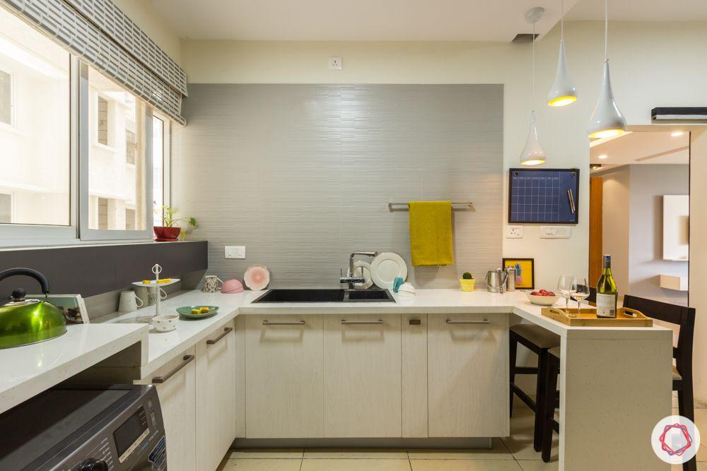 Kitchen trends 2020-white and grey kitchen-breakfast counter-sink
