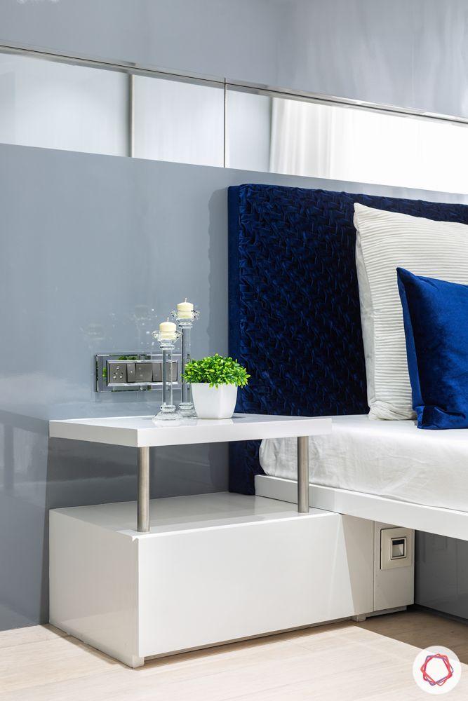 lodha-elisium-master-bedroom-custom-side-table-handmade-headboard