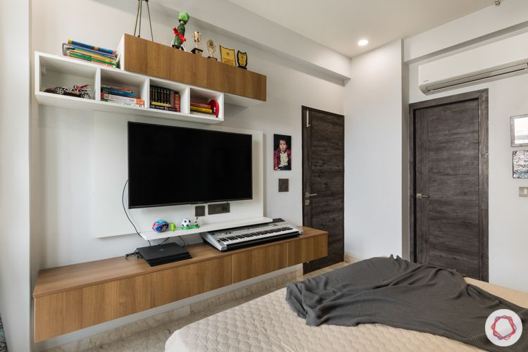 Livspace noida-compact TV unit
