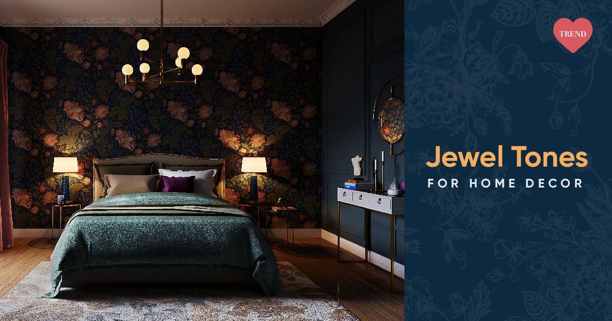 Dazzle Decorate With Jewel Tones Like, Jewel Tone Green Bedding