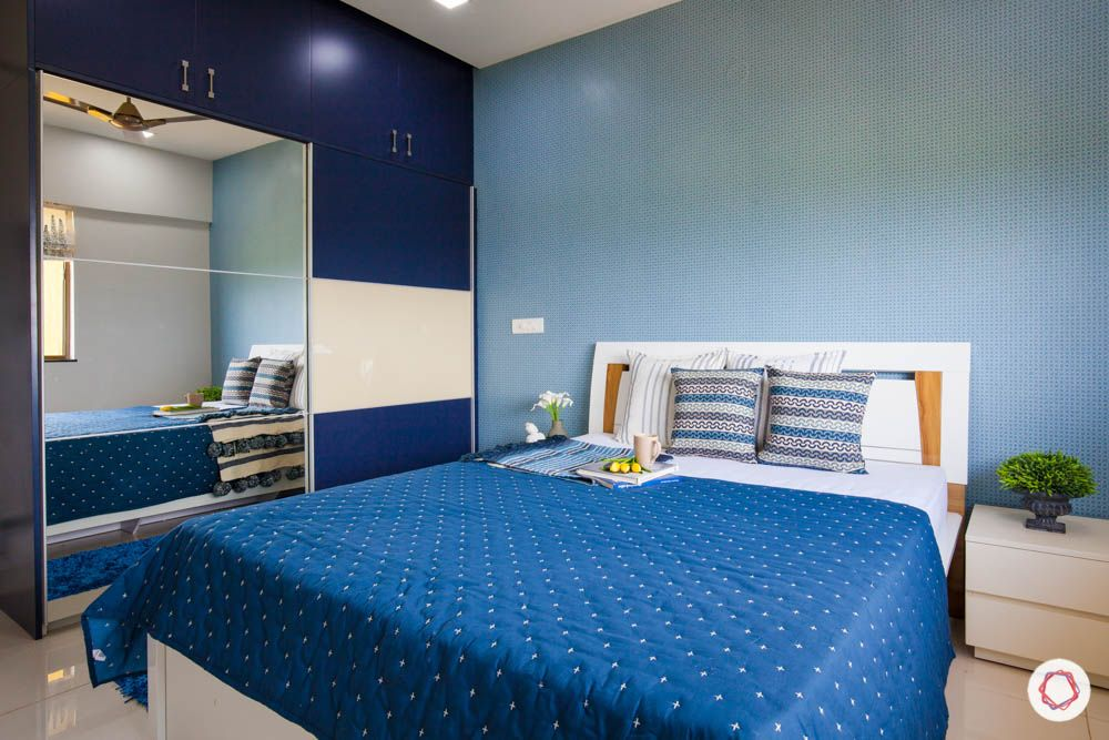 2-bhk-home-design-livspace-pune-blue-bedroom