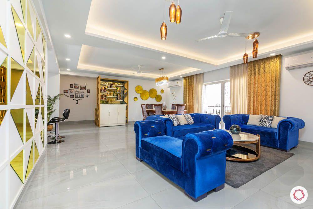 blue-sofas-velvet-rolled-arms-living-room