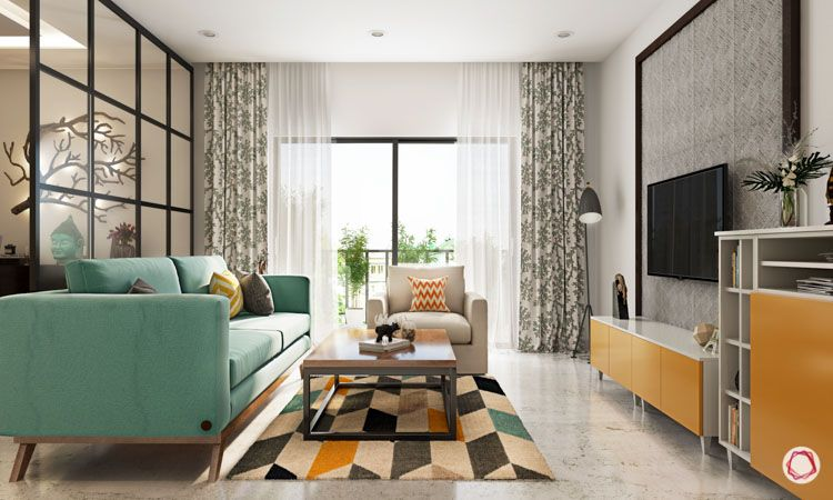 Carpet designs for drawing room-geometric patterns-living room