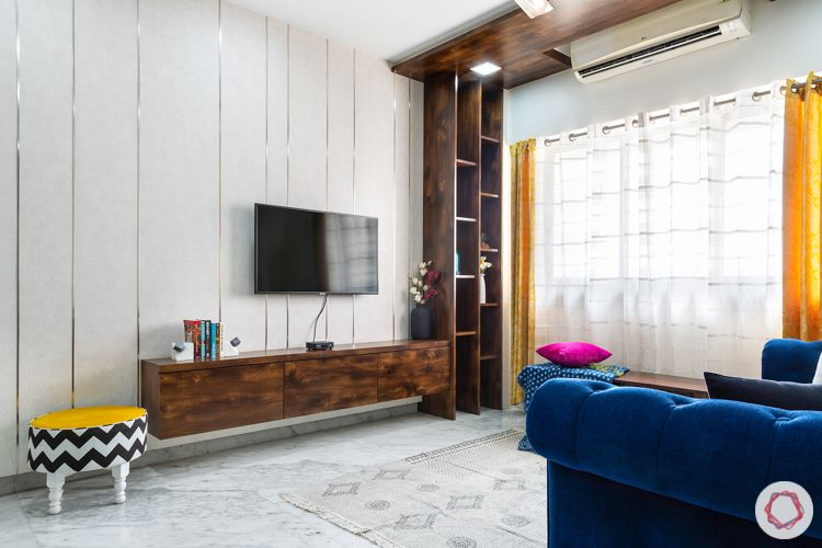 lodha luxuria priva-floating tv unit-tv wall designs
