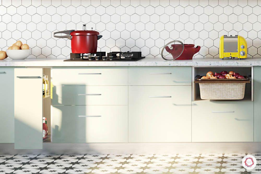 celebrity kitchens-kitchen layout-mint green cabinets-base cabinets