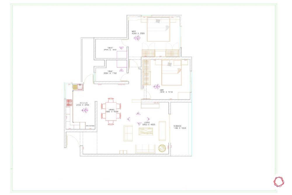home construction-floor plan