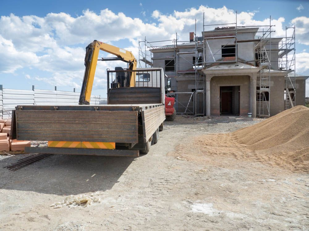 home construction-villa building