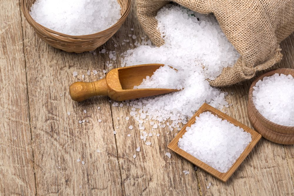 how to get rid of small insects in the kitchen-salt