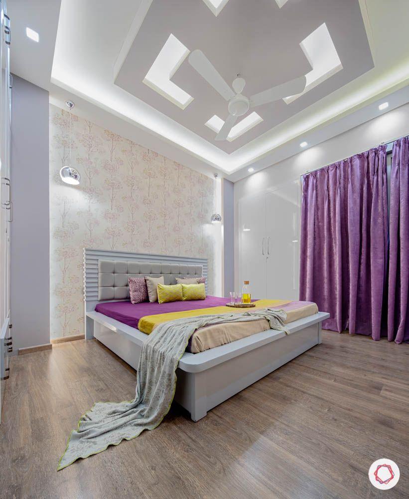 Modern Bedroom Ceiling Designs-false ceiling-lighting