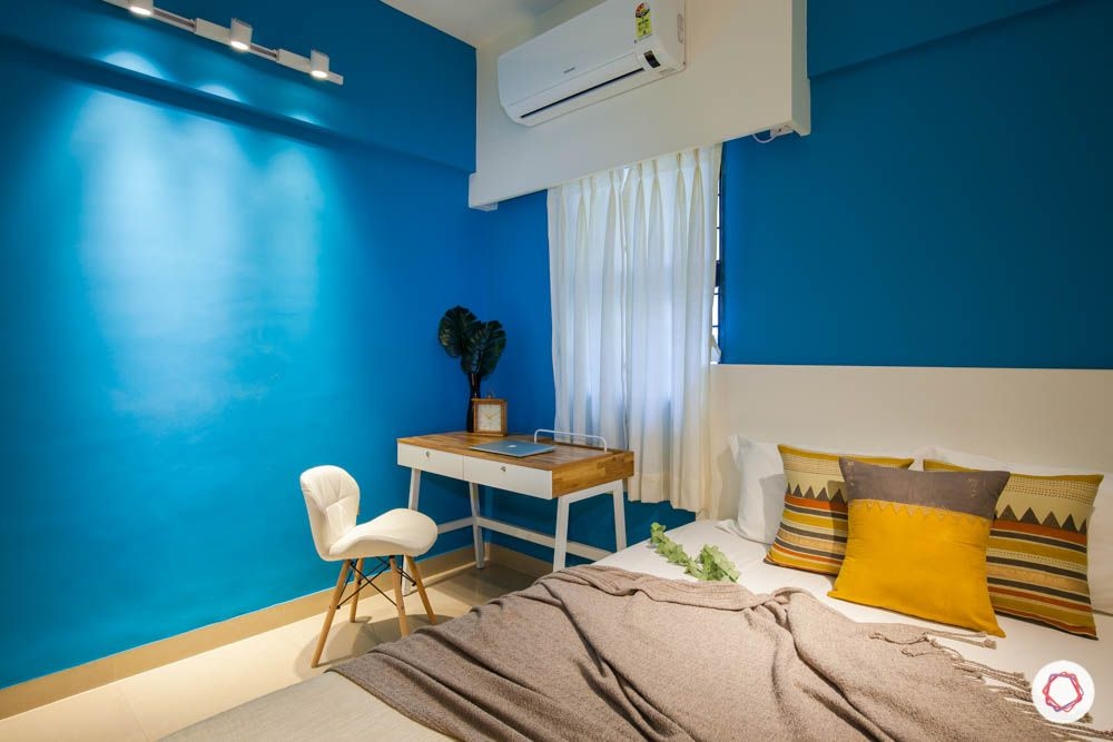 wall paint colours-wall painting-blue wall paint