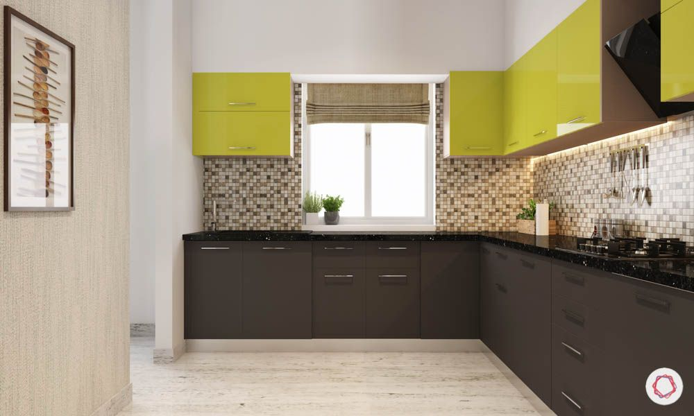 accent-colors-for-brown-kitchens-mosaic-backsplash