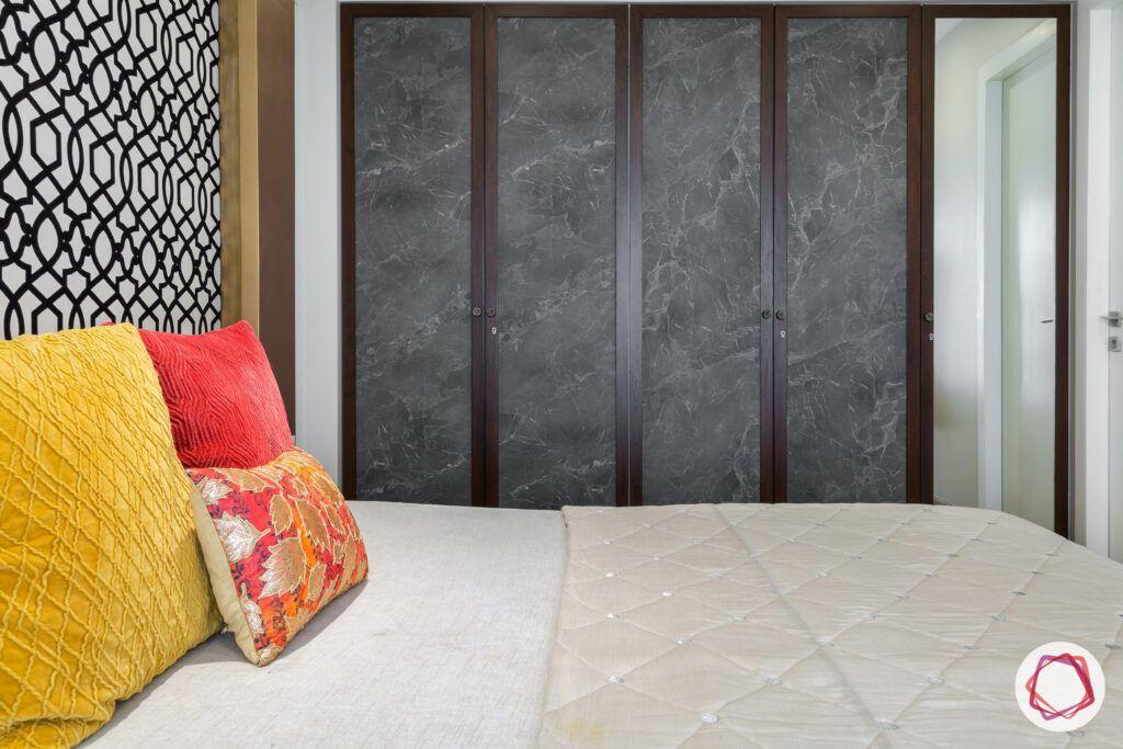 bedroom furniture-wall to wall wardrobe