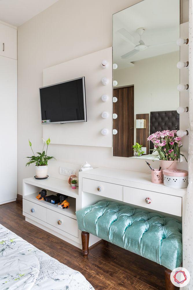 bedroom furniture-hollywood mirror designs-white dresser