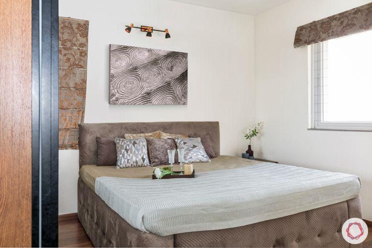grey bed-grey headboard designs