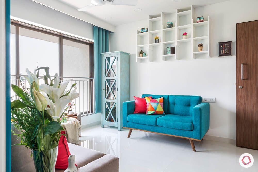 loveseat-blue sofa design-blue corner unit design